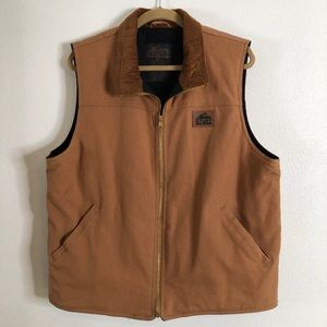 Old Mill cotton and corduroy vest. Medium